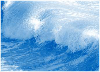 Image of a tsunami