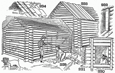 Hints and suggestions in cabin construction.